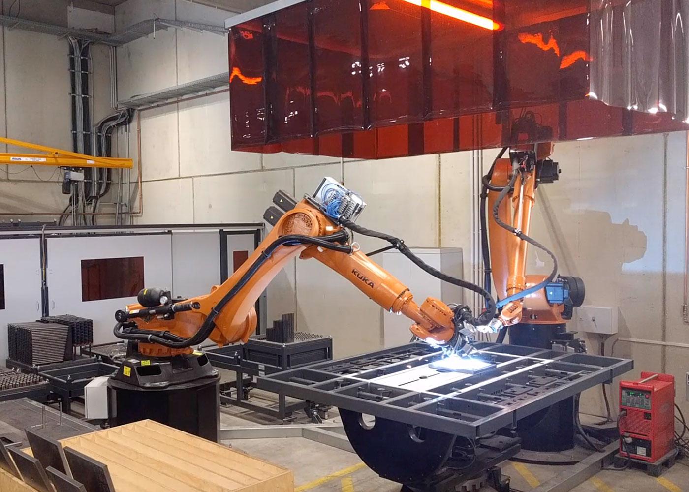 Kuka Robot For Welding And Handling Ism Technic Gmbh